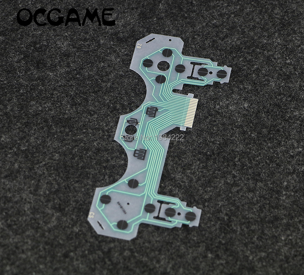 OCGAME SA1Q135A Conductive Film Conducting Film Keypad Flex Cable For Playstation 3 PS3 Controller Oem Repair Parts 10pcs/lot
