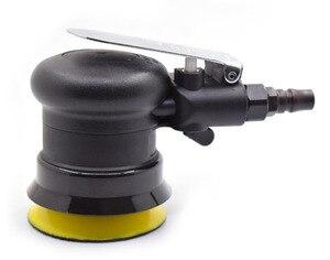 Image 4 - Wilin מיני פנאומטי אוויר אקראי מסלולית סנדרס ליטוש MircoTool לטש 3 אינץ 4 אינץ כרית מסלול 3mm