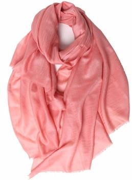 100%goat cashmere solid color women's large scarfs shawl pashmina thin 100x200cm wholesale retail