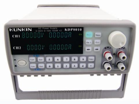 Fast arrival  KDP8010 80V/10A/150W*2 Dual channel program-controlled power supply