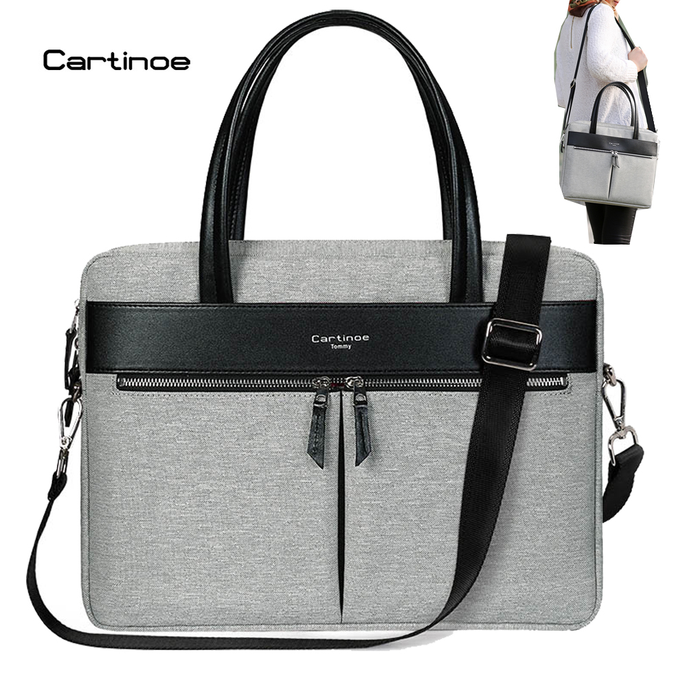 Cartinoe Rfid Blocking Waterproof Laptop Bag Notebook Shoulder Messenger Bags For Macbook Air Pro 15 Case Mens Womens Handbag In Cases From