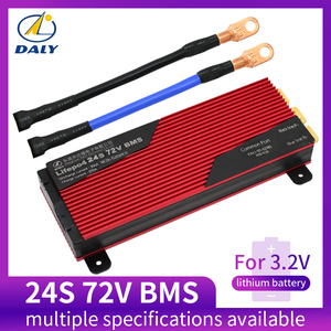 Daly 24S BMS 72V LiFePO4 battery Management System BMS 80A 100A 120A 150A 200A with high current for lithium battery(China)