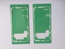 Gzm pièces 20 pièces/lot couverture de batterie arrière adhésif autocollant colle ruban pour Samsung Galaxy S6 G920 pièces de rechange