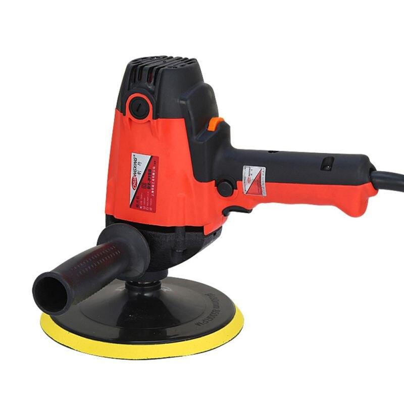 900 W Auto Polijsten Auto Waxen Machine 2000R Elektrische Gloss Tool Power Voor Kras Verwijderen Schoonheid Auto Care Reparatie Polijstmachine gereedschap - 4