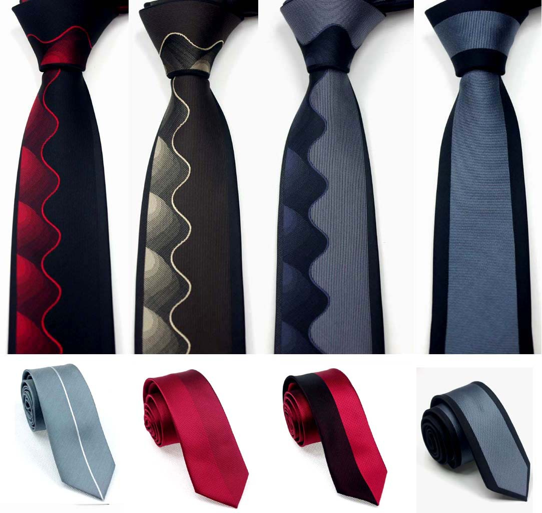 Mens Tie 148- 6 Cm Narrow Tie Men's Casual  Necktie Formal Neckwear  Gifts For Men  Printed Ties  Men Accessories Wedding Party