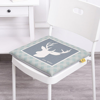 Car Massage Cushion Sofa Pillow Cotton Home Decor Pillow Cartoon Kids Nordic Style Pads Sandalye Minderi Seat Cushions 50B0252