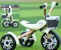 Niños coche de juguete triciclo bebé bicicleta plegable bicicleta niño