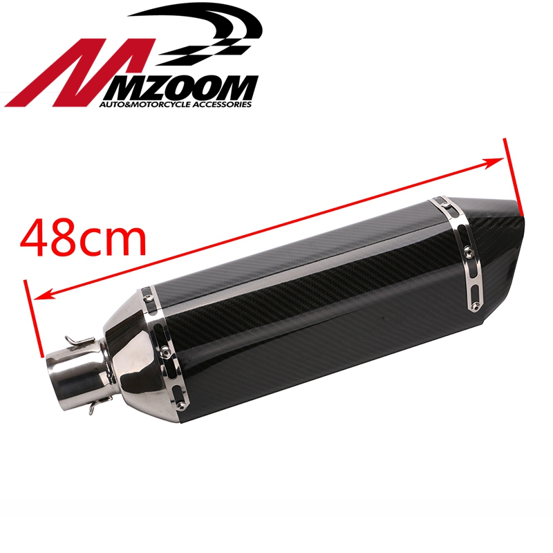 motorcycle scooter modified universal exhaust muffle furnace tube gy6 cbr125 cbr250 cb400 cb6 bjmoto universal motorcycle exhaust modified scooter akrapovic exhaust muffle fit for most motorcycle