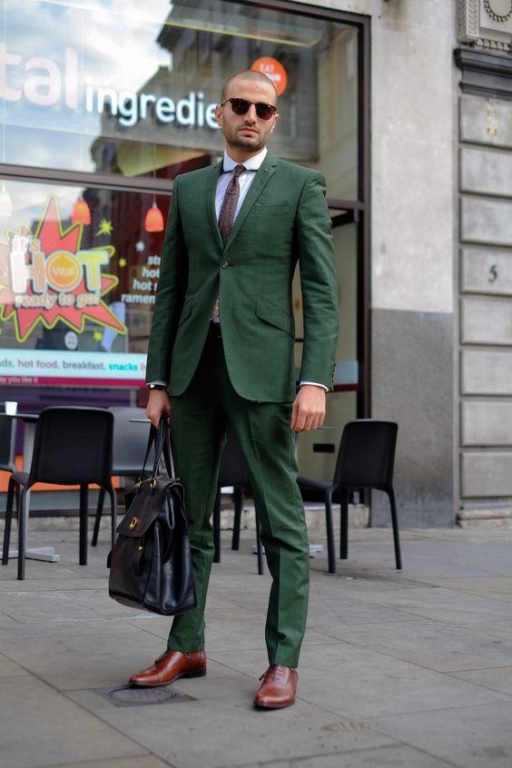 Popular Green Suit Jacket Slim Fit-Buy Cheap Green Suit Jacket ...