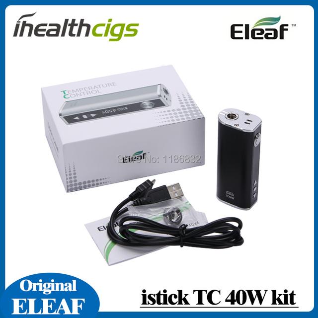 En la acción Nueva TC Eleaf iStick 40 W caja mod istick TC40W sub-ohm temperatura control de temperatura caja de mod istick 40 W