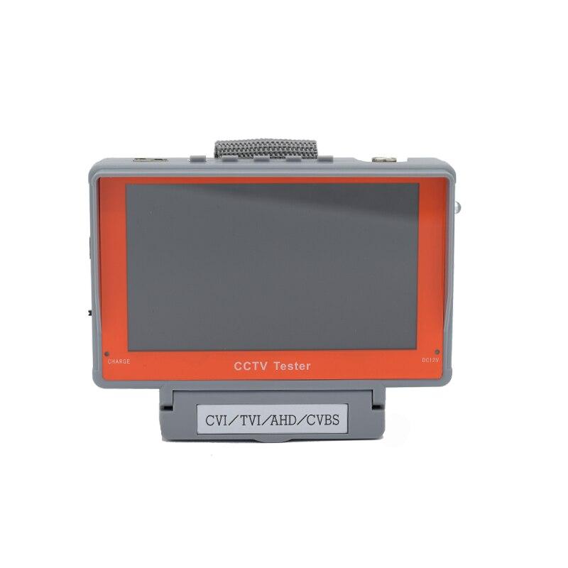 New 5 inch HD AHD TVI CVI CVBS in one Camera Tester 5MP AHD TVI 4MP CVI CCTV Tester support Audio cctv tester
