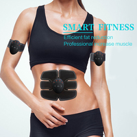 Abdominal Muscle Trainer ABS Electrical Muscle Stimulator Ems Fitness Trainer Weight Loss Body Slimming Massager With
