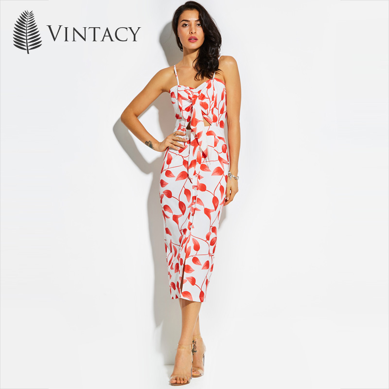 Vintacy Women White Long Maxi Dress Flower Print Summer Beach Vacation Dresses Slash Neck Bodycon Party Long Dress Backless
