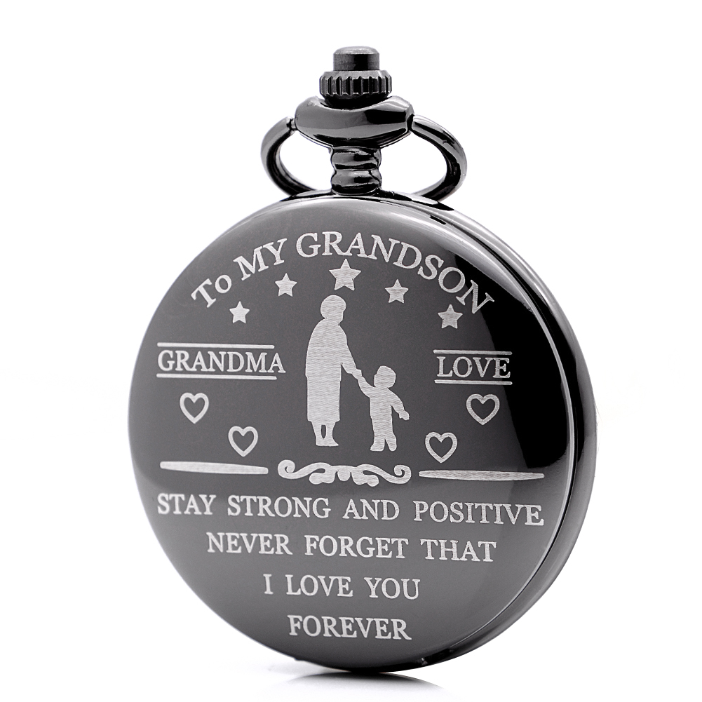 New Hot Creative Engraved Pocket Watch Unique Gift Idea To -3395