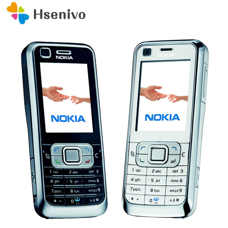 Original Nokia 6120 Classic Mobile Phone Unlocked 6120c 3G Smartphone & One year warranty Refurbished