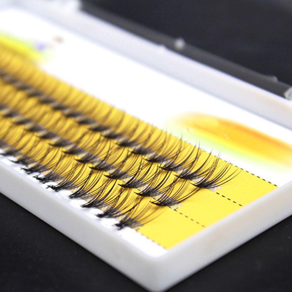 Women Pro Makeup 60 Pcs Clusters Beauty Eye Lashes Grafting Fake False Eyelashes Fast Shipping