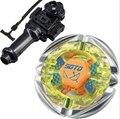Лучший Подарок На День Рождения Продажи Flame СТРЕЛЕЦ C145S Fusion 4D Beyblade игрушки BB-35 Metal Fury Beyblade Пусковых Установках гироскопа пластиковые прядильной
