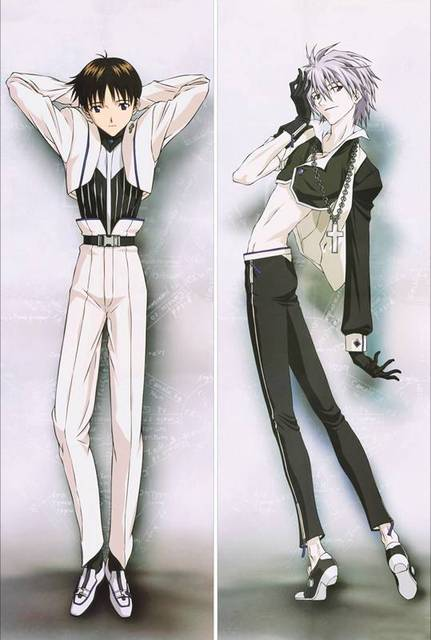 US $30 8 12% OFF Anime Dakimakura pillow case SM434 Neon Genesis Evangelion  EVA Shinji Ikari-in Pillow Case from Home & Garden on Aliexpress com  