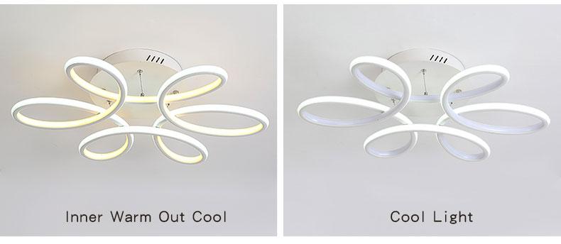 modern led chandeliers