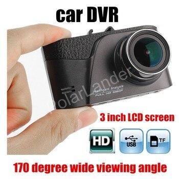 Новое поступление 3 дюймовый ЖК дисплей Full HD 1080P Портативная Автомобильная камера DVR видеорегистратор Автомобильный видеорегистратор завод