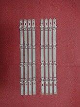 새로운 키트 8 pcs led 백라이트 스트립 lg 40lf630v 40lf570v innotek 40 drt4.0 drt 4.0 3.0 40 인치 a b svl400 6916l 0885a 0884a