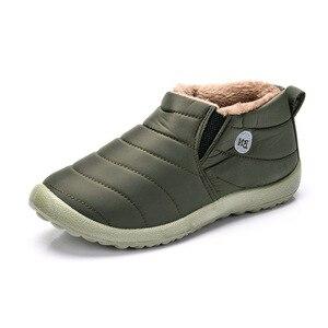 Image 3 - סגנון חדש חורף נשים דירות חם פרווה מגפיים להחליק על נעלי חצאיות נוח פו פרווה נשים נעליים יומיומיות