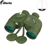 Binoculars 7X50 10x50 Hd Professional Military Binocular With Digital Compass Telescope Night Vision Eyepiece Focus