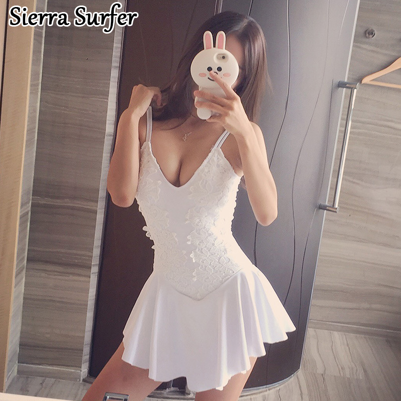 Cheap Sexy Bathing Suits Swimwear One Piece Female May Beach Girls Plus Size 2018 2018 Pure Color Covering Underwire Groups cheap sexy bathing suits lady bikini 2017 may beach girls bikinis women one piece korea 2018 size underwire push up new skirt