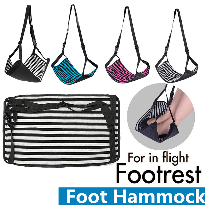 Portable Light Weight Hammock Ease the Footsteps Aircraft Office Foot Rest Stand Desk Feet Hammock Foot Chair Care Tool morais r the hundred foot journey