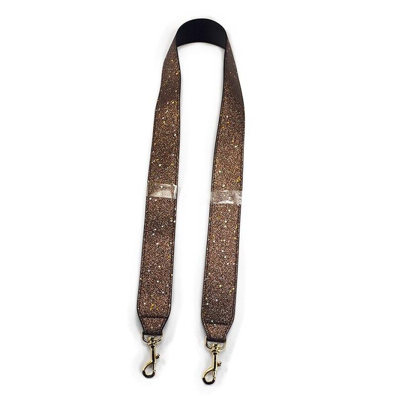 103cm Bag Strap Handbag Straps Replacement Parts Bag Belts Leather DIY Handles for Women Shoulder Bags Accessories Black Parts