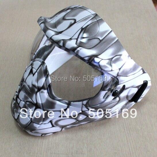 Sauver Phace blanc Mamba Phat série Airsoft Paintball Anti-buée lentille masque/lunettes nouveau