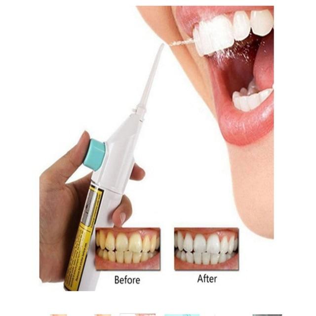 Portátil de hilo Dental de chorro de agua cuerdas diente dispositivo eficaz Durable de limpieza de los dientes blanqueamiento máquina Dental herramientas