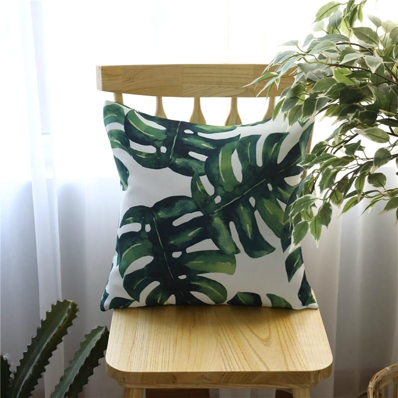 45x45 cm 60x60 cm Afrika Tropische Pflanze Gedruckt Polsterbezüge ...