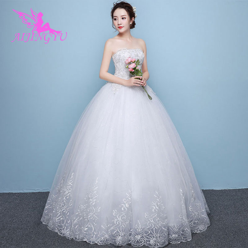AIJINGYU dresses plus size for wedding party weding dress WU182