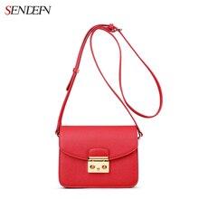 Sendefn qualidade da marca sacos de mulheres de couro mensageiro sacos de ombro das mulheres da forma senhoras sacolas mulheres bolsas crossbody sacos(China (Mainland))