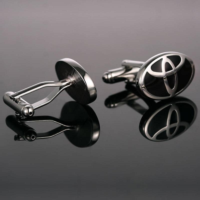 Luxury shirt Car logo cufflink Cuff Buttons Cuff links High Quality automobile Gemelos Para Camisas 10202