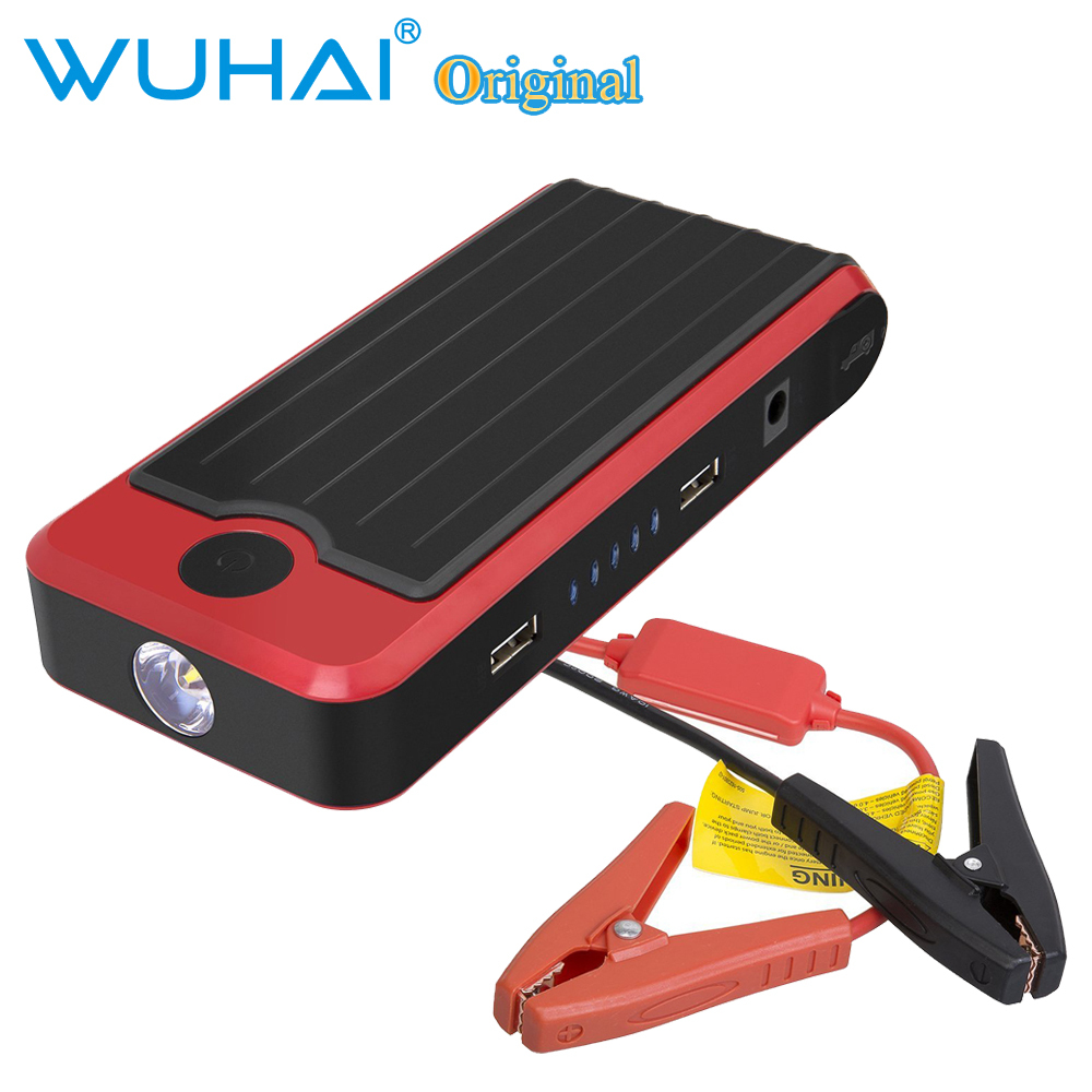 wuhai 12v 12800mah portable car vehicle jump starter power bank battery charger booster in. Black Bedroom Furniture Sets. Home Design Ideas