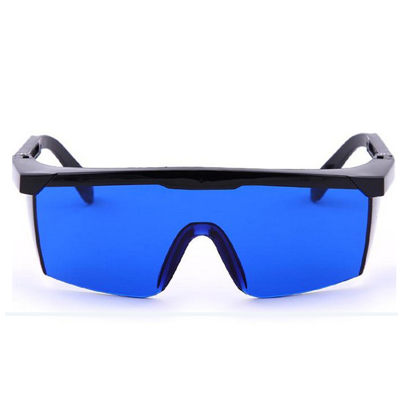Protective Goggles Safety Glasses Welding Glasses Green Blue Laser Protection Eye Wear Adjustable Work Lightproof Glasses 1pcs protection goggles laser safety glasses green blue red eye spectacles protective eyewear green color laser protection blue