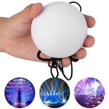 Дизайн танца живота шары светодиодный разноцветный светящиеся POI шары для кручения для танца живота ручной реквизит сценические аксессуары