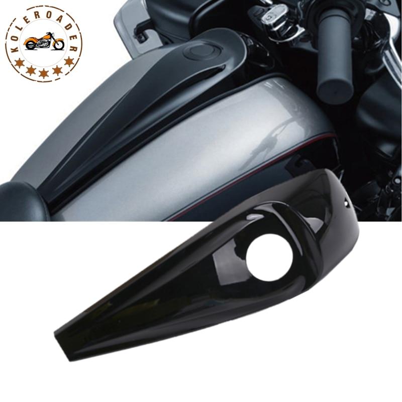 Gloss Black Signature Jim Nasi Smooth Dash Case for Harley Street Glide Road Glide FLHX FLTR 2008-2017 Motorcycle Parts MBJ106 missha signature glam art gloss srd04 цвет srd04