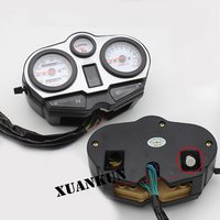 XUANKUN Motorcycle Odometer Instrument 125K Meter Assembly HJ125 A/R Meter Tachometer Assembly