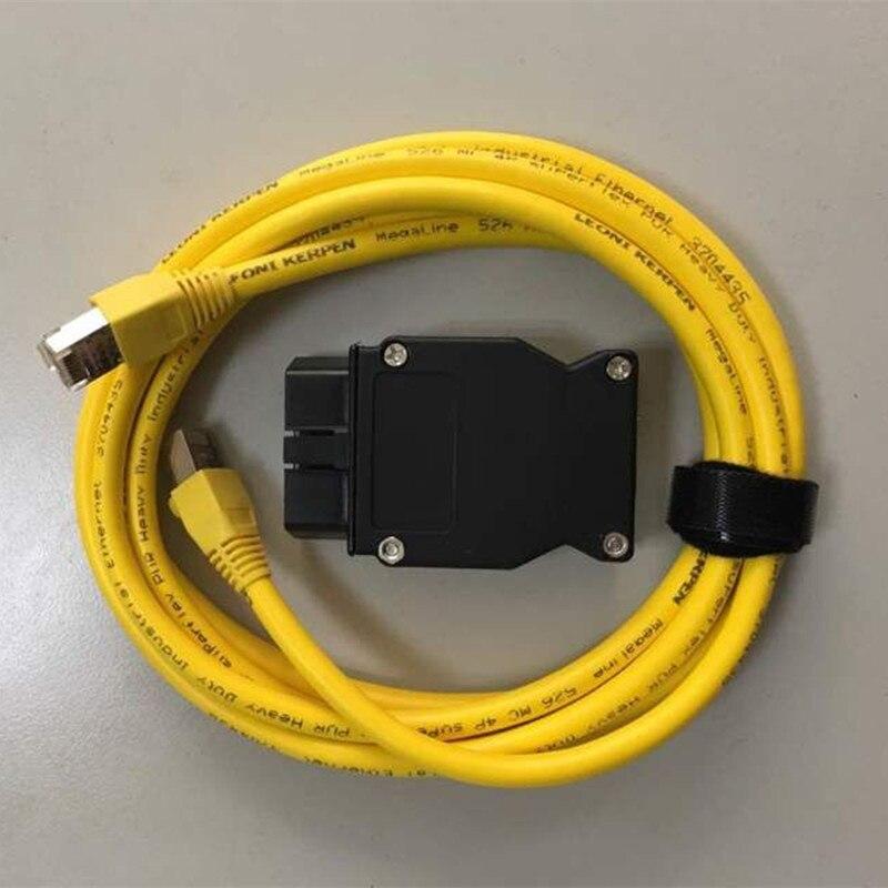 Esys 3 23 4 v50 3 кабель для передачи данных для bmw ENET Ethernet to OBD