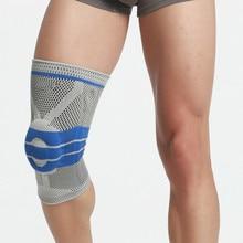 цены Basketball Knee Pads Sports Safety Knee Calf Leg Sleeve Honeycomb Pad Kneelet Guard Protective Kneepad Free Shipping