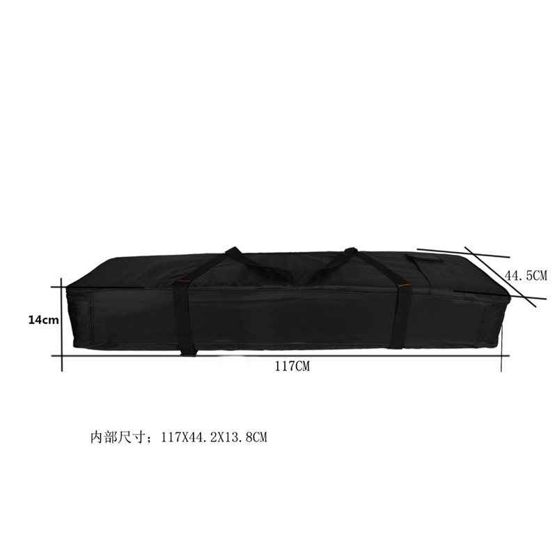 Portable Waterproof Oxford Fabric Keyboard Piano Bag Case Cover for 76 Keys Electronic Organ Musical Instruments Accessories