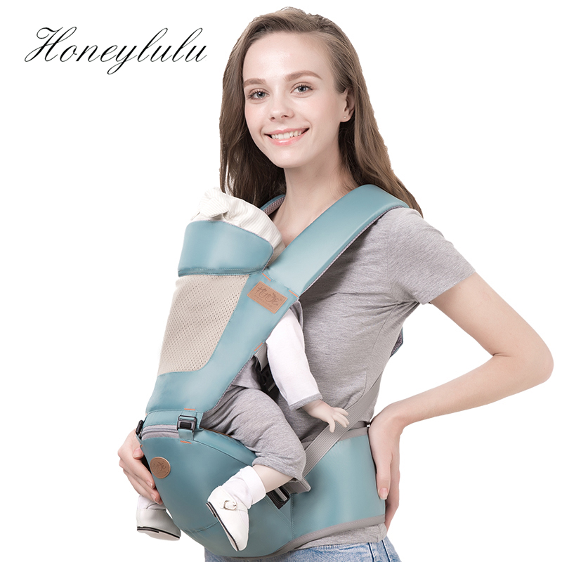 Honeylulu Baby Carrier Sling For Newborns Breathable Kangaroo For Baby Head Protection Ergoryukzak Baby Backpack Hipsit Sling