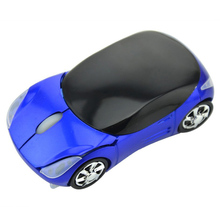 2.4Ghz Optical Mouse Wireless Mouses Car Shaped Game Mice for Computer PC EM88
