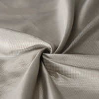 Silver fiber radiation protection fabric maternity clothing conductive Diamond lattice fabric