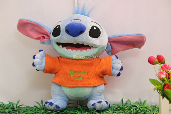 Fancytrader 24\'\' 60cm 2015 New Giant Plush Stuffed Stitch, 2 Colors Available Free Shipping FT90147 (3).jpg