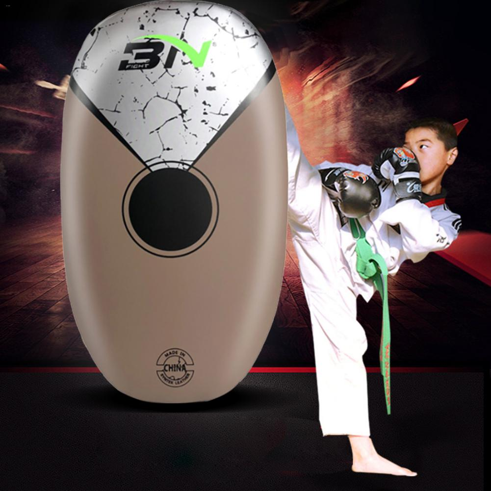 1 PC sac de boxe Pad de boxe sac de sable Fitness Taekwondo MMA main coup de pied Pad PU cuir entraînement Gear Muay Thai pied cible