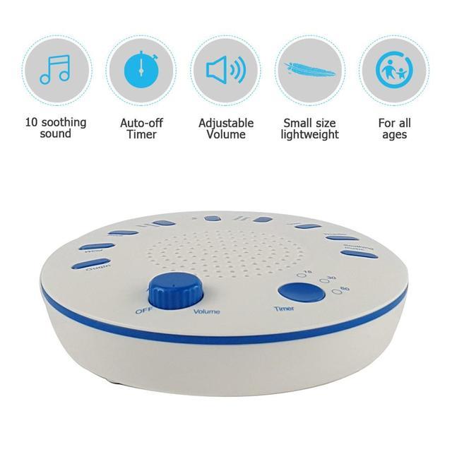Baby's High Sound Quality Timing Music Sleep Aid Device White Noise Machine Sound Machine Music Player Help Baby Sleeping
